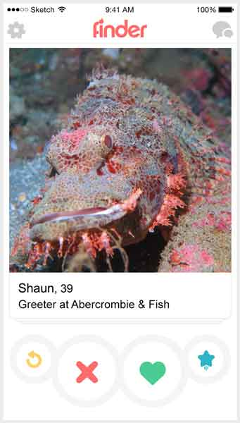 If fish were on Tinder 10