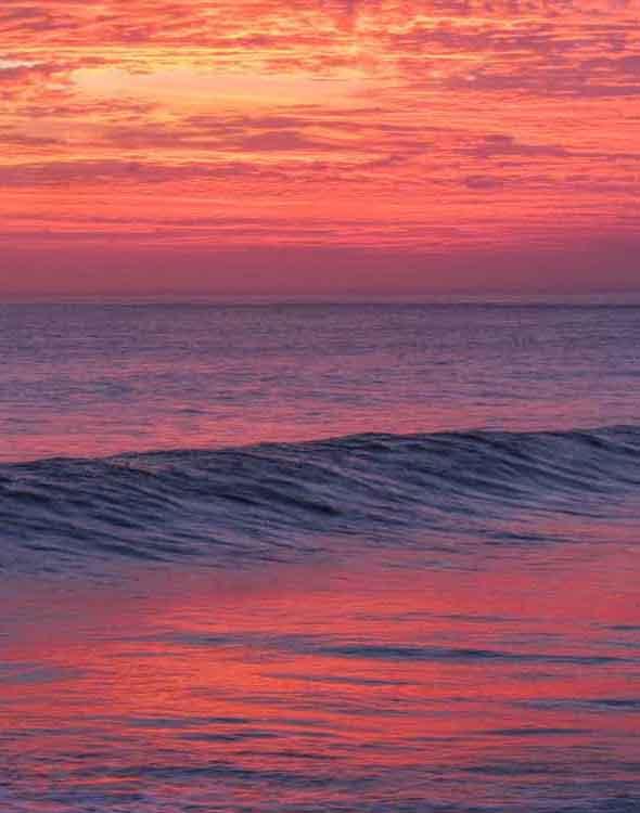 Sunset from Lembongan