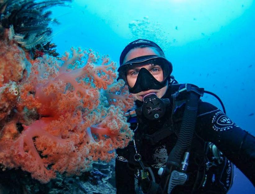 Scuba diving in Nusa Lembongan