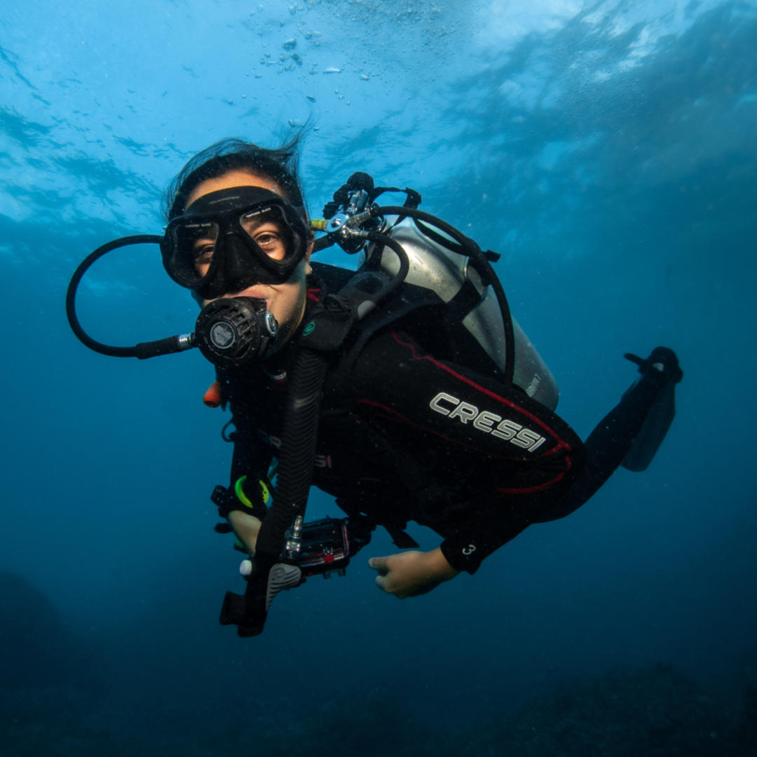 Katie Diving